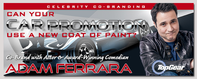 book celebrity Adam Ferrara event