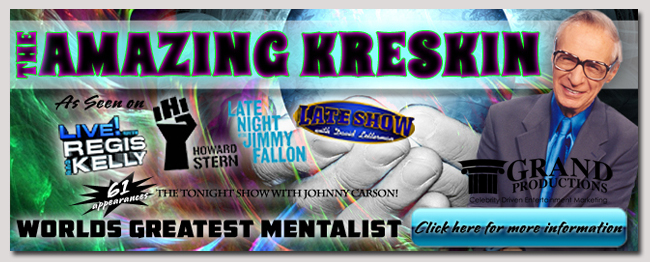 book a celebrity amazing kreskin event