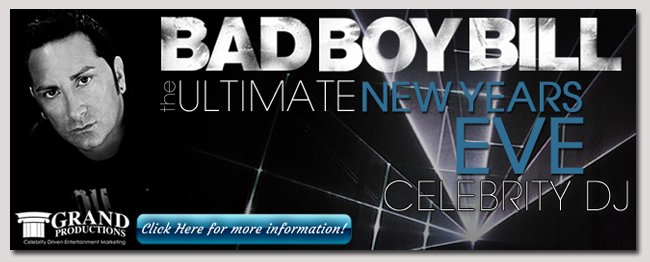 book a celebrity DJ bad boy bill event