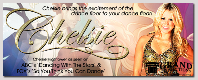book a celebrity chelsie higntower event