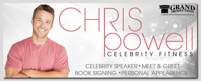 book a celebrity chris powell event