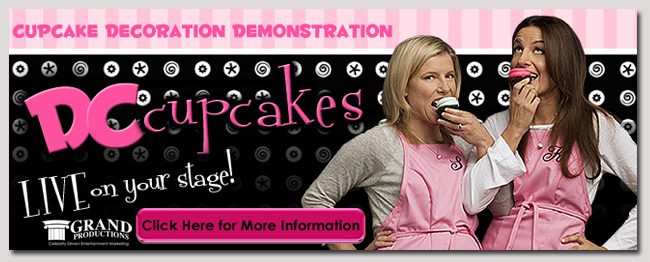 book a celebrity DC Cupckaes event
