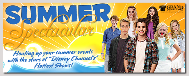 book a celebrity summer disney event