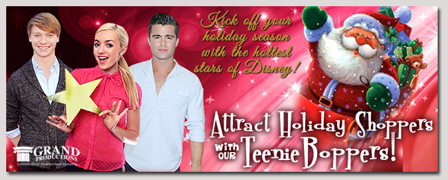 book a celebrity holiday disney event