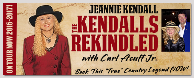book celebrity Jeannie Kendall event