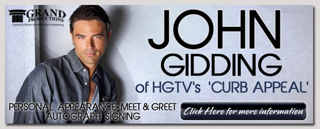 book a celebrity john gidding event