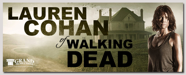 book a celebrity lauren cohan event