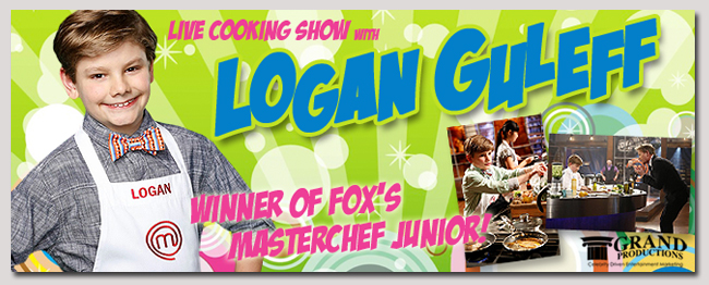 book a celebrity logan guleff event