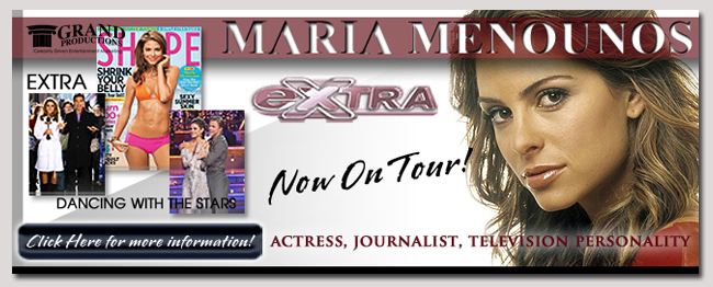 book a celebrity maria menounos event