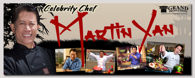 book a celebrity martin yan event