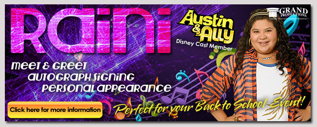 book a celebrit raini rodriguez event