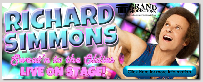 book a celebrity richard simmons event