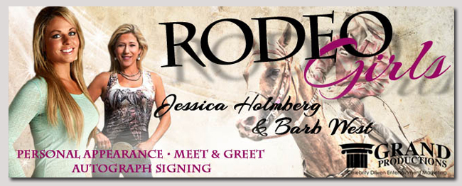 book a celebrity rodeo girls event