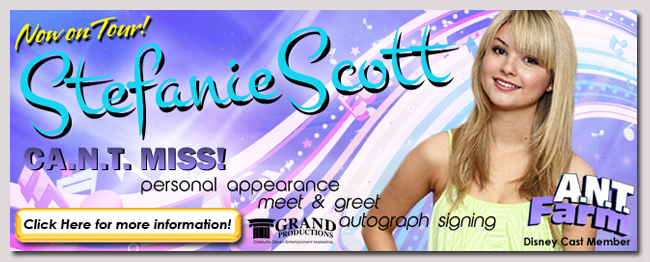 book a celebrity stefanie scott event