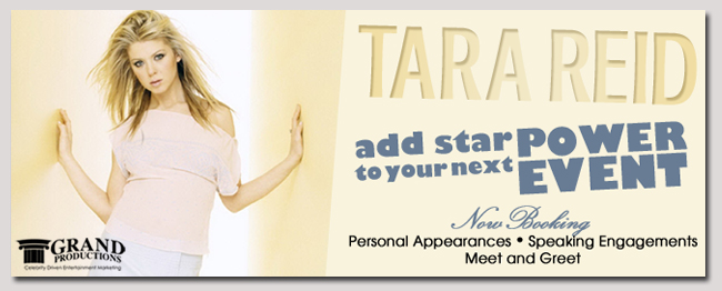 book a celebrity tara reid event