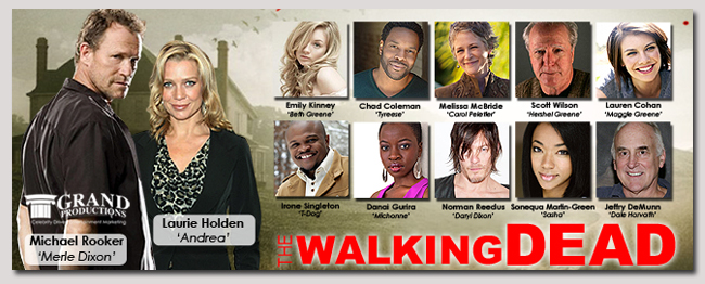 book a celebrity walking dead event